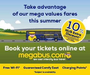 Mega Bus Offer