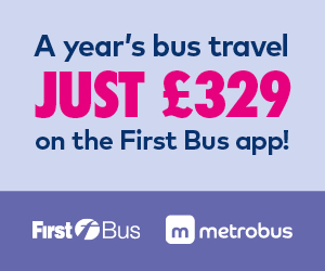 A year's bus travel just £329