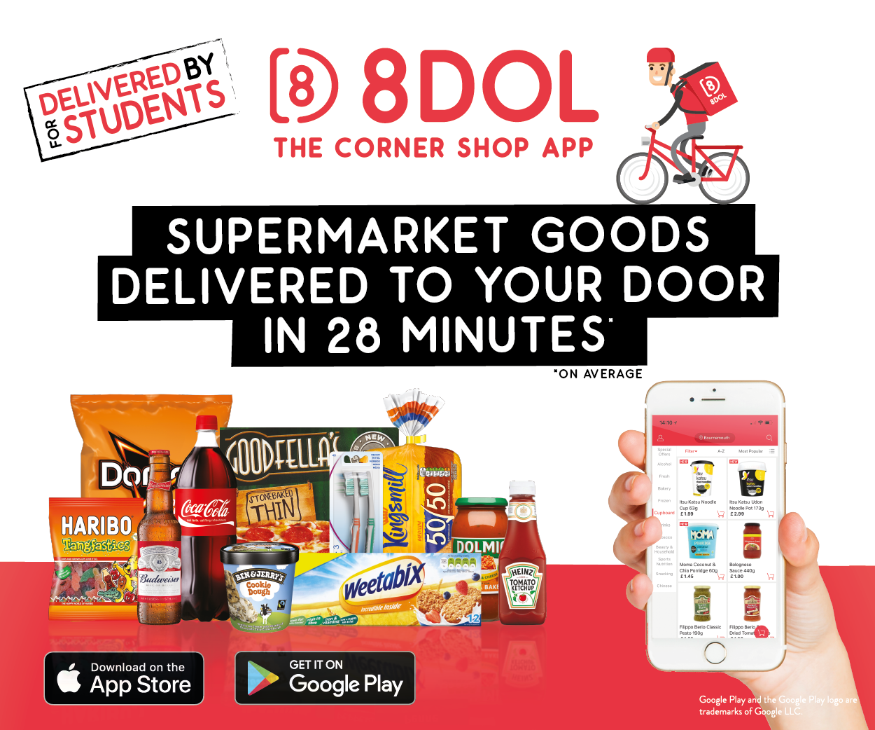 8 Dol the corner shop app