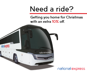 10% off End of Term travel during the student trav