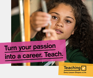 Get into Teaching advert