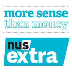 Get your NUS Extra Card now!