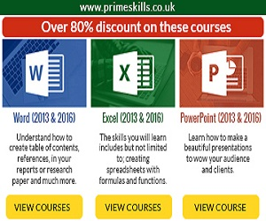 80% discount on these courses