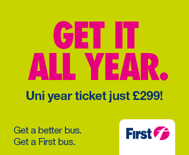 Get it all year. Uni year ticket just £299