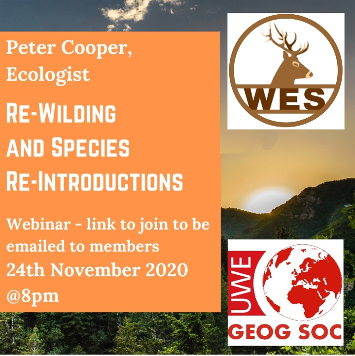 Re-Wilding and Species Re-Introductions - Webinar