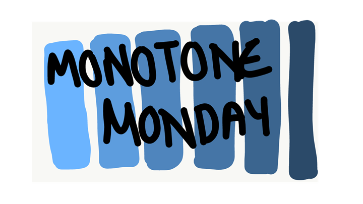 CANCELLED: Monotone Monday!