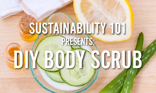 Frenchay Sustainability 101: DIY Body Scrub