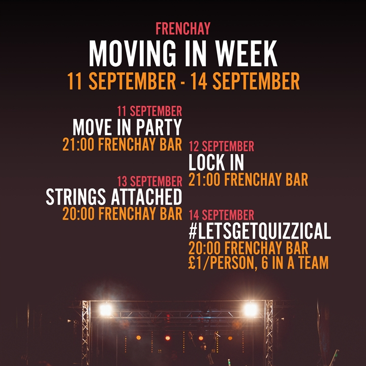 Welcome Launch - Move In Party