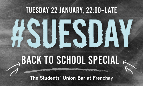 #SUesday: Back to School Special