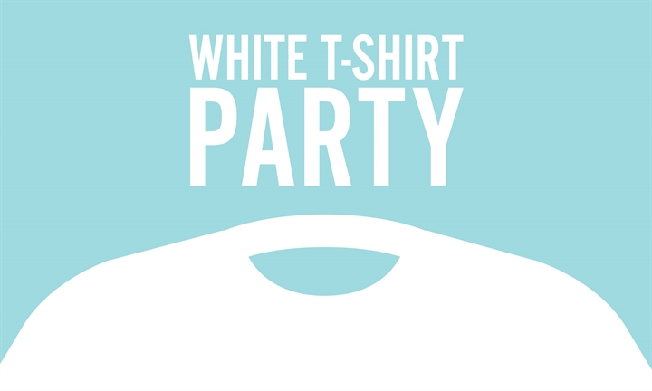 White T-Shirt Party