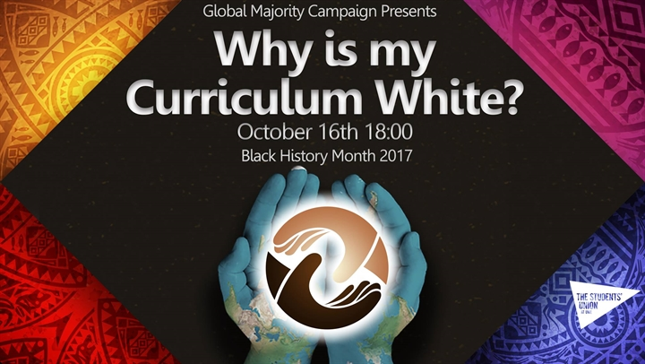 Why is My Curriculum White Campaign Launch