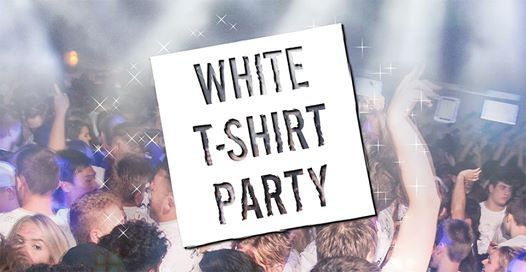 Psychology White t-shirt & Pizza Party
