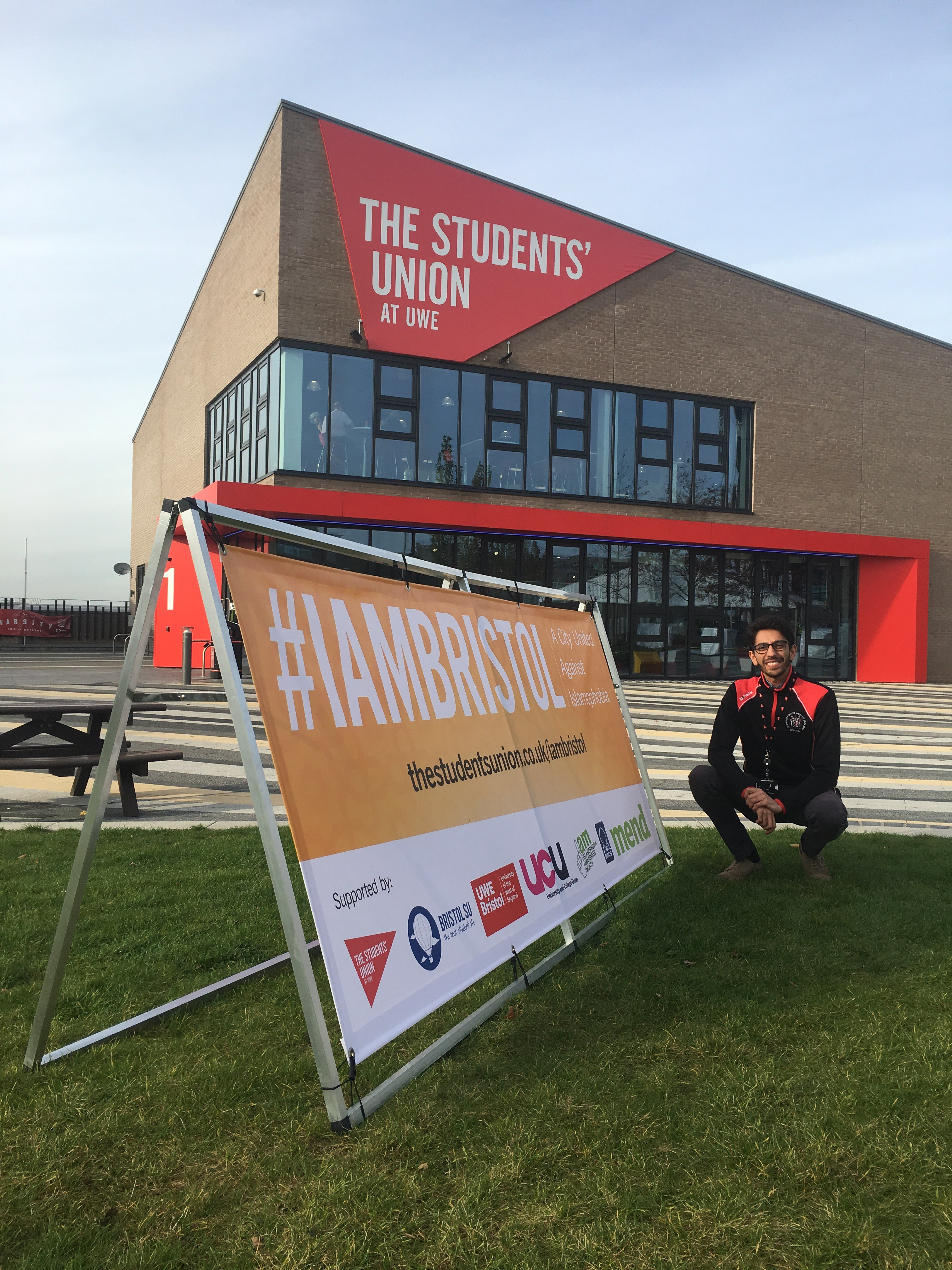 President Zain Choudhry launches #IAMBristol Campaign