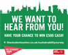 Win £500 by completing this survey
