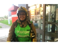 VP Community and Welfare, Sian Hampson, on fire safety