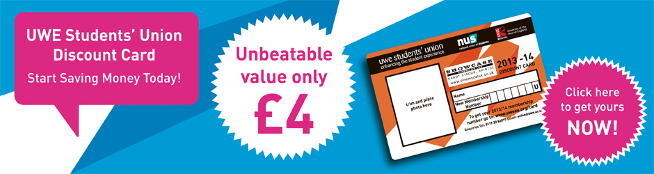 Business list the students union at uwe buy your 201314 membership card now reheart Image collections