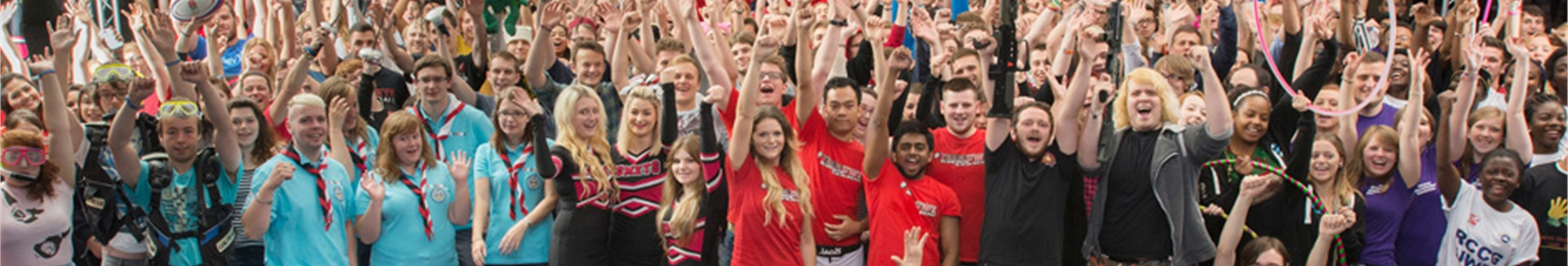 Join in and find something new to get involved in with our Sports, Societies, Fundraising opportunities and more!