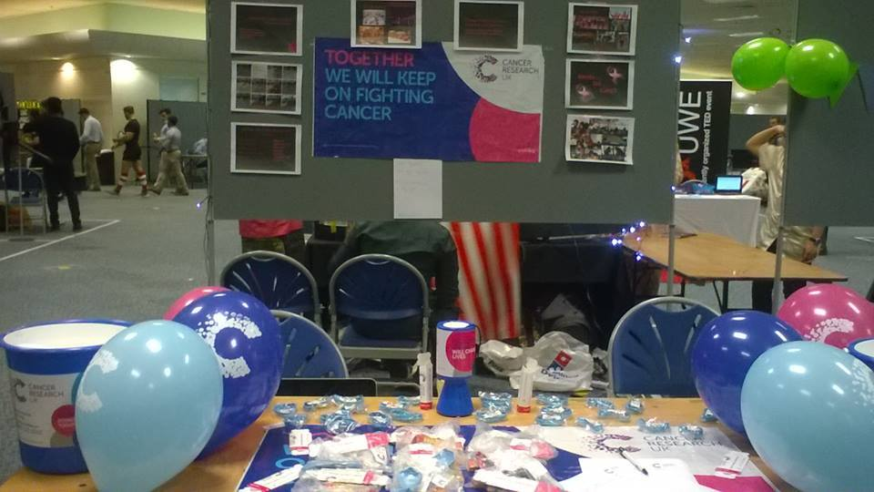 Picture from Freshers' Fair 2016